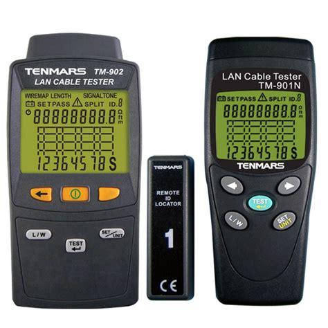 Alat Test Lan jual tenmars tm901n tm 902 lan cable tester supplier