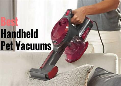8 Best Handheld Vacuums For Pet Hair 2018 (Most Powerful