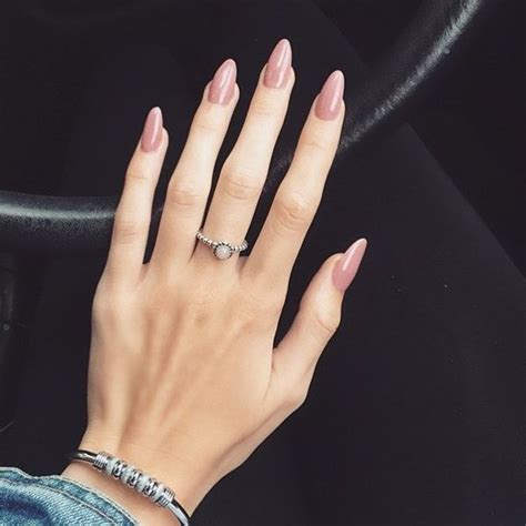 natural classy acrylic almond nails designs  summer