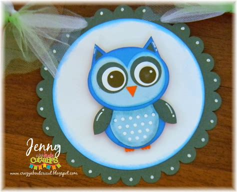 Cricut Owl Baby Shower by Miss Kate Cuttables Owl Baby Banner
