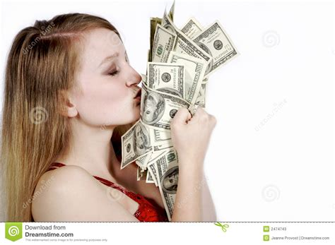 No Money Man Can Win My Love - i love my money stock photos image 2474743