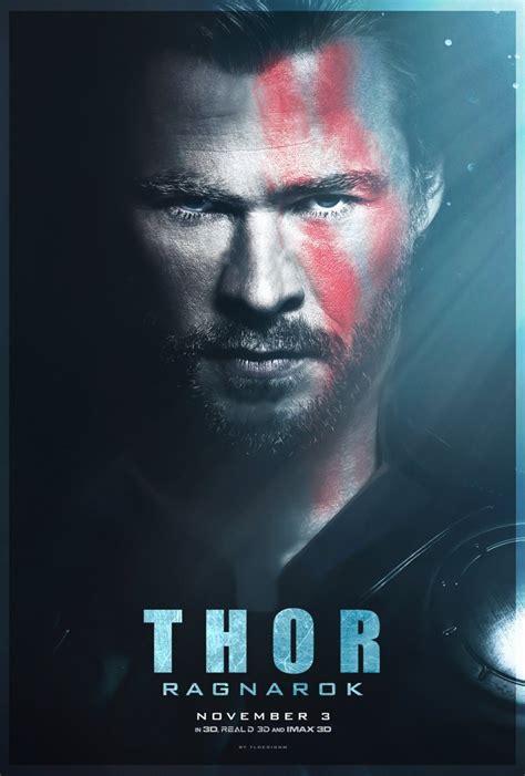 thor film poster thor ragnarok poster fan made by tldesignn on deviantart