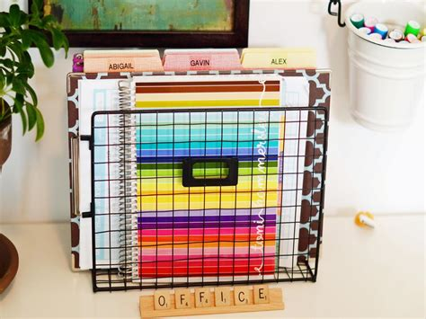 home organizer 10 home office hacks to get you organized now hgtv
