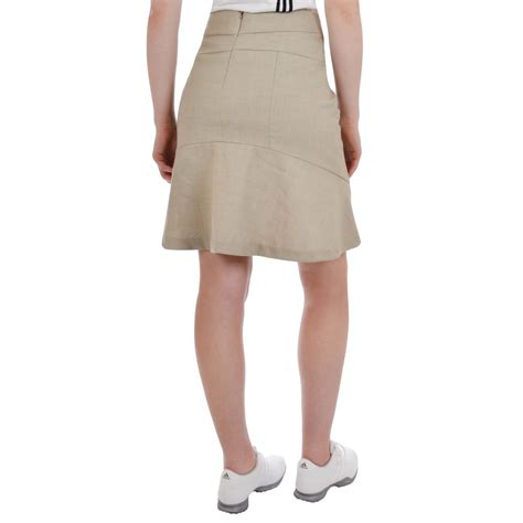 adidas adipure womens knee length golf skirt skort ebay