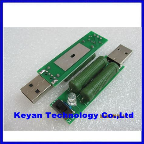 usb discharge resistor usb mini discharge load resistor 2a 1a with switch 1a green led 2a led jpg