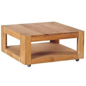 table basse ch 234 ne plateau roulettes 80cm romeo