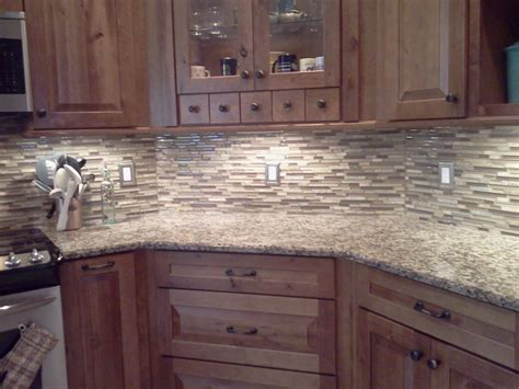 Stone Kitchen Backsplash Stacked Stone Backsplash Stone Glass Tile Kitchen Backsplash Designs