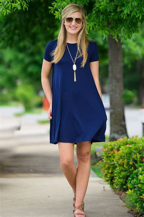 Dress 19021 Blue Bamboo Arrow best 25 swing dress ideas on navy