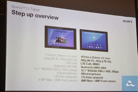 Tablet Sony Xperia Z4 Di Malaysia sony xperia z4 tablet dilancarkan di malaysia versi lte