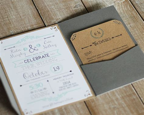 Handcrafted Wedding Invitations by Handcrafted Weddings Getting Hitched On A Budget