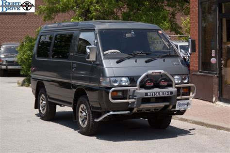 mitsubishi delica l400 for sale 1989 mitsubishi delica for sale rightdrive usa