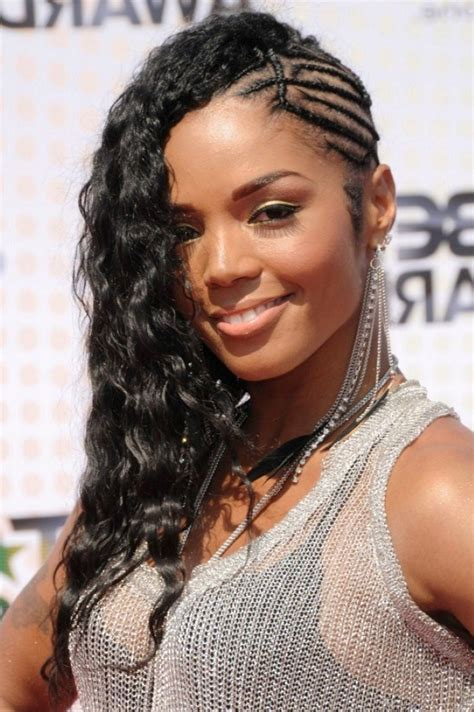 Mohawk Hairstyle For Black With Braids by Curly Black Weave Black Search