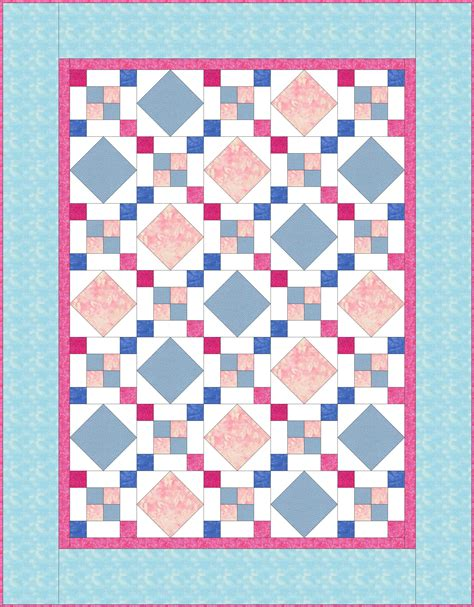 Flower Box Quilts by Square Chain Flower Box Quilts