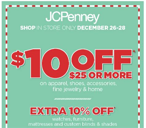 Jcpenney Printable Coupons For Today | jcpenney furniture coupon