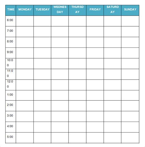itinerary template word blank itinerary template 11 free word pdf documents