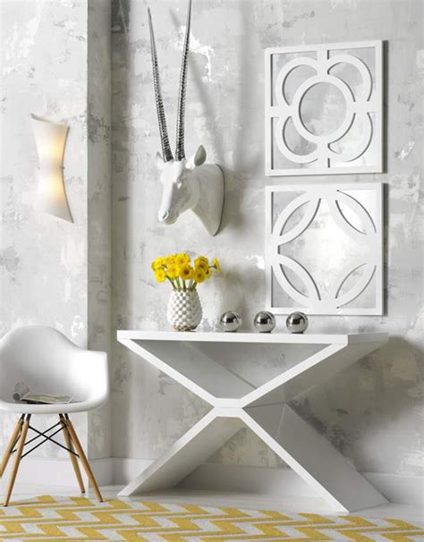 How To Decorate Console Table by How To Decorate A Console Table Huffpost