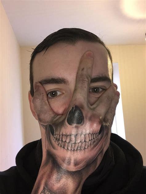 hand tattoo mask danielhuscroft com