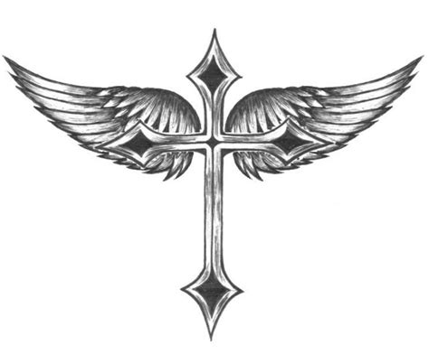 winged cross tattoo designs cross tattoos for and tribal and celtic cross