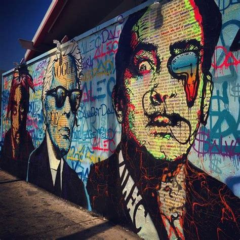 tupac wall mural mural of tupac shakur karl lagerfeld and salvador dali take it to the streets via