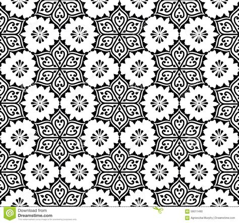 pattern illustrator indian indian seamless pattern repetitive mehndi design stock