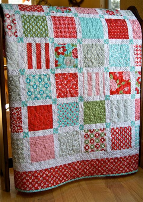 Modern Patchwork Quilts - quilt baby patchwork vintage modern toddler children