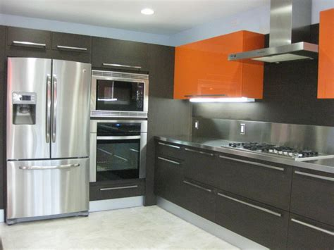 orange and white kitchen ideas orange gloss kitchen designs contemporary kitchen