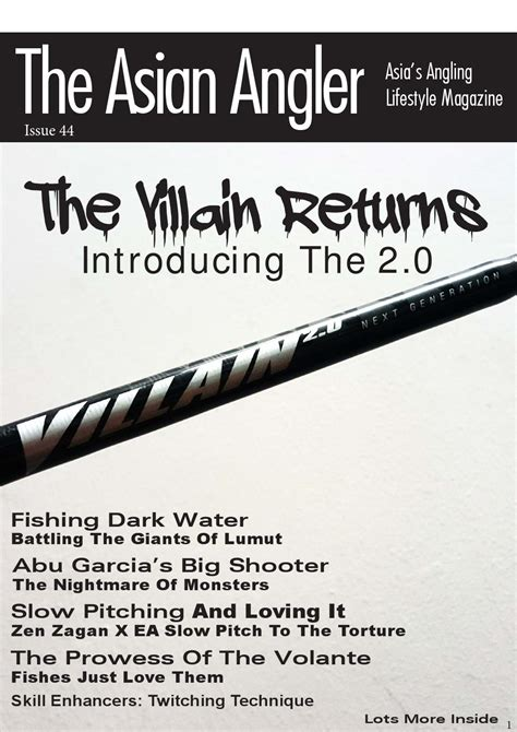 Zen Zagan Twitch 632 the asian angler may 2016 digital issue malaysia by the asian publisher issuu