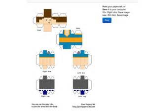 Cr 233 Ez Votre Skin En Papier Et En 3d Minecraft
