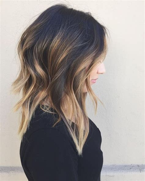 highlights for black hair and layered for ladies over 50 17 best ideas about medium layered hair on pinterest