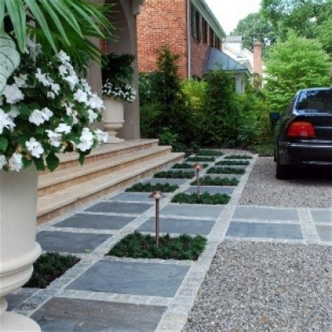 Driveway Garage Transition by 1000 Images About Driveways On