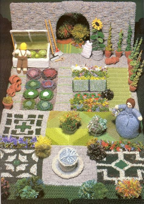 knitting garden 17 best images about knitting project garden house on