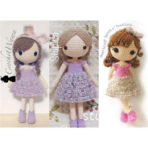 design doll full version free my little sparkle pattern by crochetwawa wardrobes