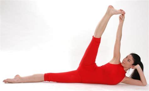 side reclining leg lift anantasana side reclining leg lift yogaasan