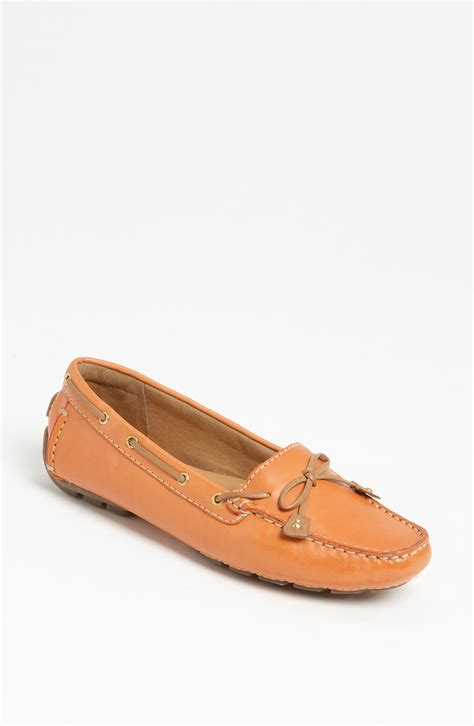 clarks dunbar loafer clarks artisan collection dunbar racer loafer in orange