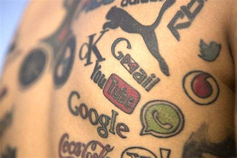 tattoo logo brand brand tattoos should remind marketers that loyalty needs