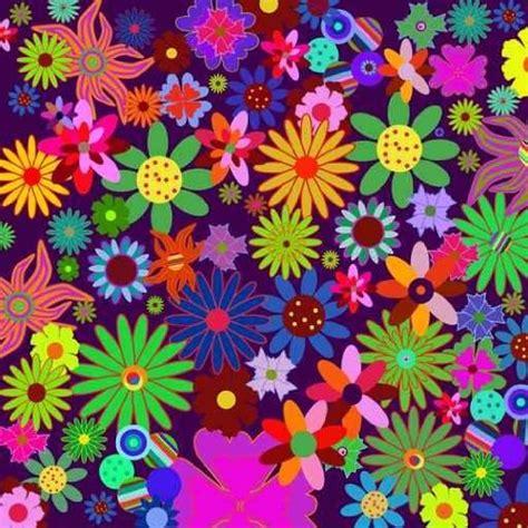 70s floral flower power background wallpapersafari