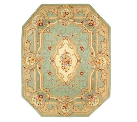 Royal Palace Rugs Qvc by Royal Palace Beveled Edge Savonnerie 8 X10 Handmade Wool