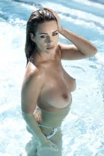 new photos of holly peers from in the pool for page 3 hot topless