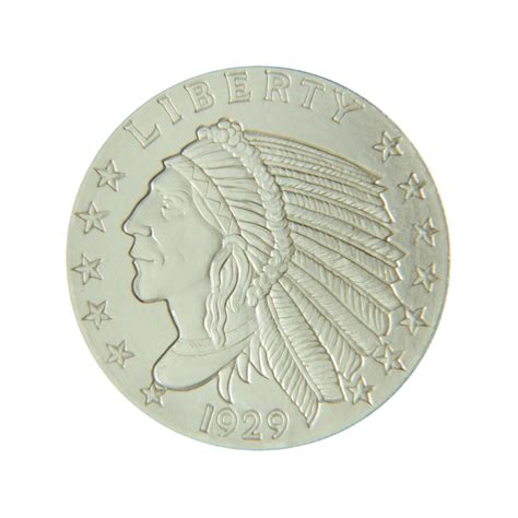 Silver Rounds - 1 2 ozt fractional silver rounds jefferson coin