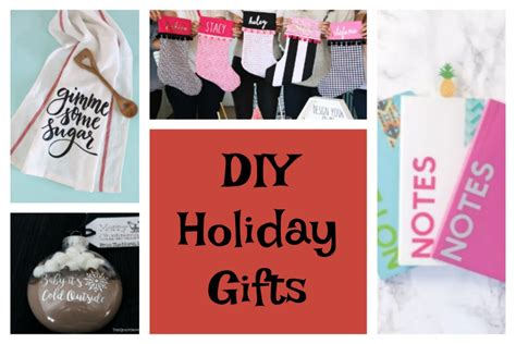 cricut christmas gift ideas 15 awesome handmade gifts with cricut cricut