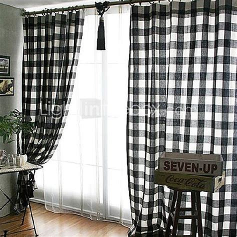 black and white check curtains pin by sheila broughm on decorating ideas pinterest