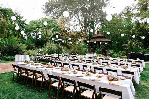 san diego backyard wedding san diego botanic garden wedding ruffled