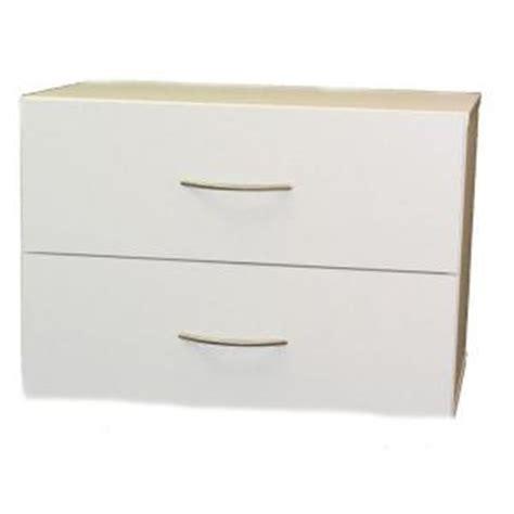 talon 23 in w 2 drawer laminate stackable horizontal