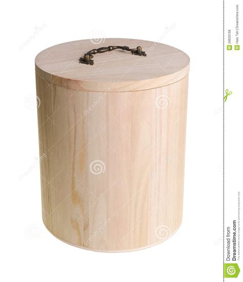Kitchen Design Program wooden container and pot for rice storage on background