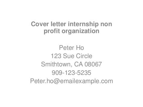 Marketing Internship Cover Letter – cover letter example for marketing internship