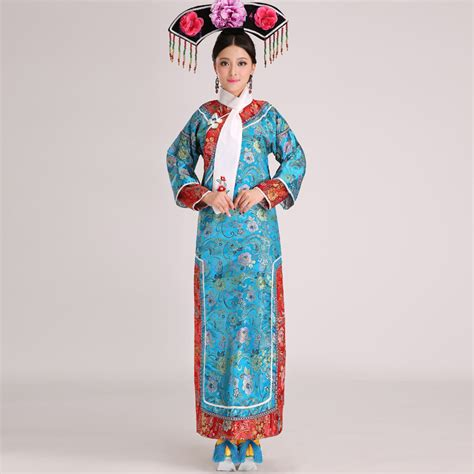 Dijamin Jacket Qing Blue buy wholesale qing dynasty clothing from china qing dynasty clothing wholesalers