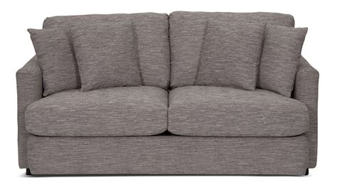 light grey chenille sofa living room furniture urbana chenille condo sofa light
