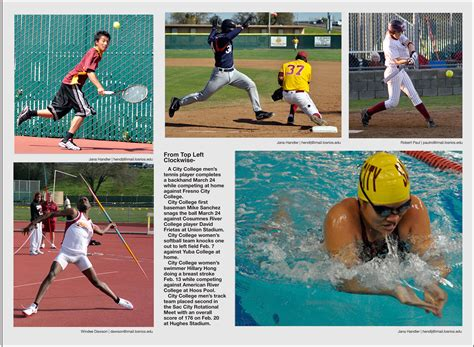 Photo Essay From by City College Sports Photo Essay Sac City Express