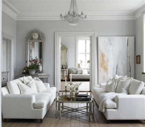 white couch living room white and gray living room french living room slettvoll