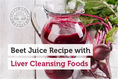 Beetroot Juice Liver Detox by Beet Liver Cleanse Recipe Besto